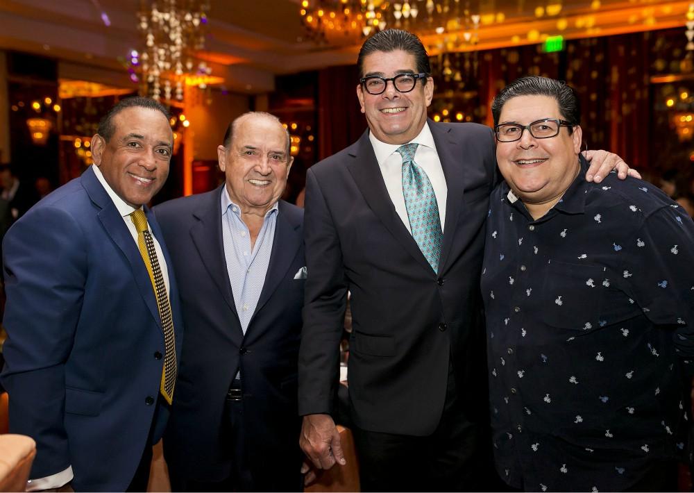 Luis Vázquez, Roberto Sueiro, Lcdo. Edgardo Canales y Lcdo. Roberto Sueiro Jr. (Suministrada)