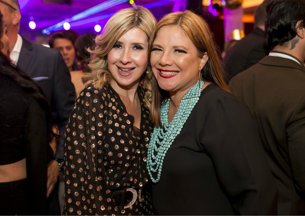 Claudia Madrid y Nelly Cruz. (Suministrada)