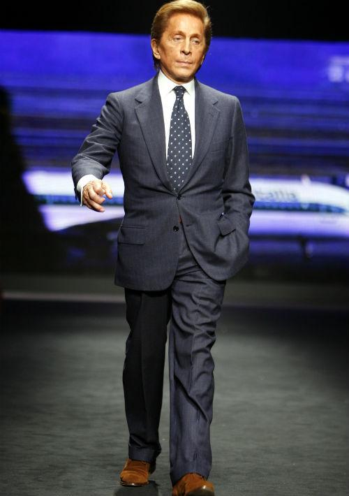 """Con 85 años vividos, Valentino Garavani, es el favorito de celebridades y el """"jet set"""". (Archivo)"""