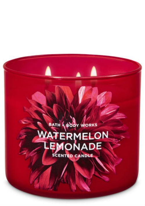 Vela Watermelon Lemonade, de Bath & Body Works. (Foto: Suministrada)