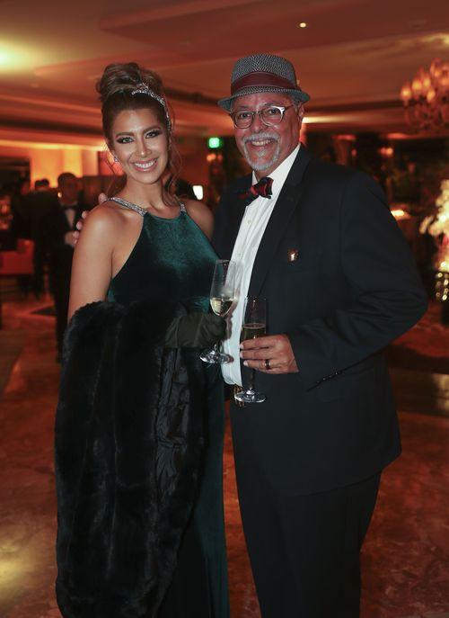 Victoria Zambrana y Alberto Cornier. Foto suministrada