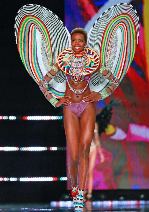 La modelo angoleña Maria Borges. (EFE/EPA)