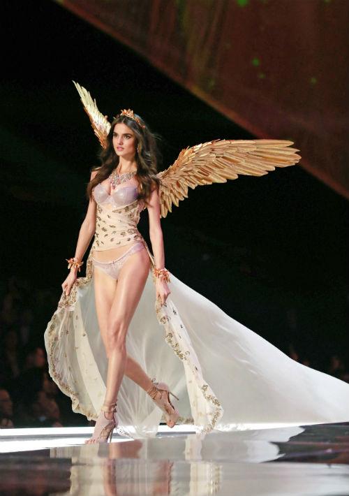 La modelo española Blanca Padilla. (EFE/EPA)