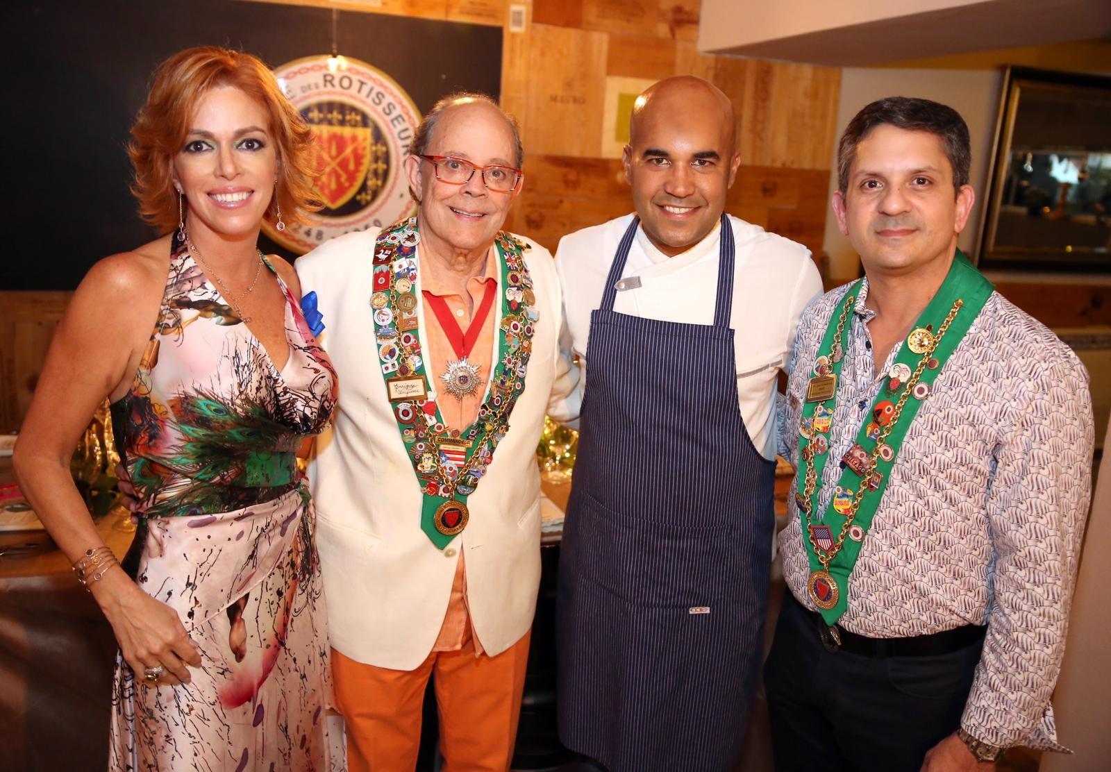 Ivette Cruz, Enrique Umpierre, Enrique Piñero, José Almodovar. Foto Suministrada