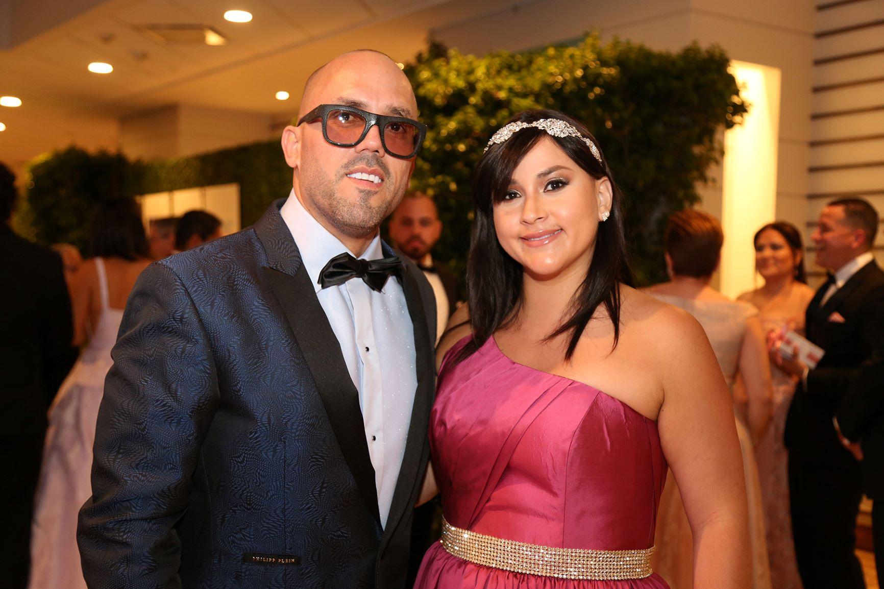Walter Otero y Viviana Collazos (Nichole Saldarriaga)
