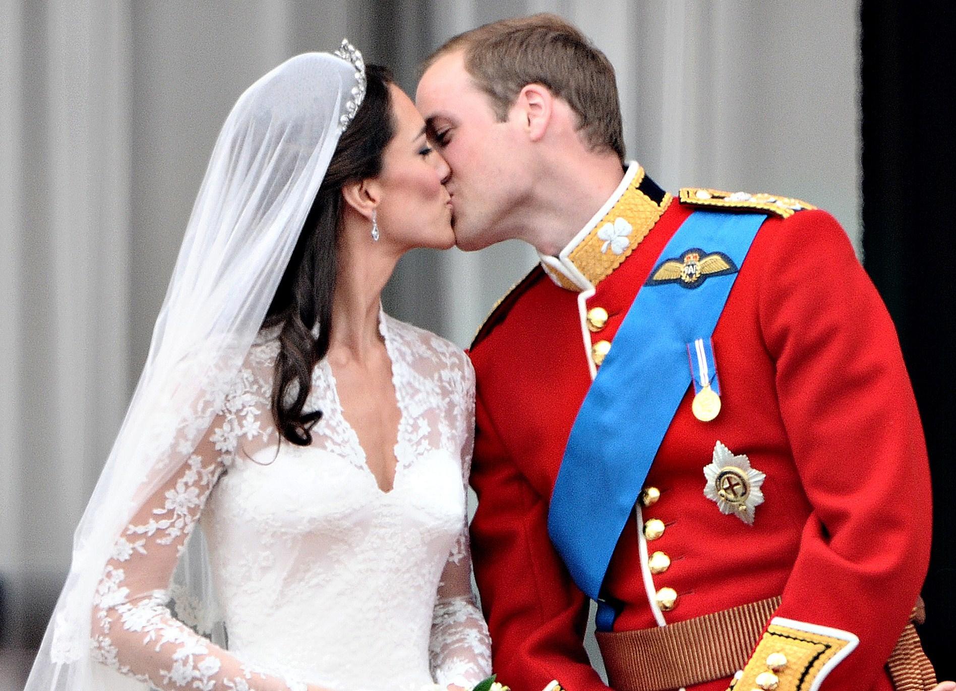 El príncipe William y Kate se casaron el 29 de abril de 2011 en la Abadía de Westminster de Londres. (Archivo)