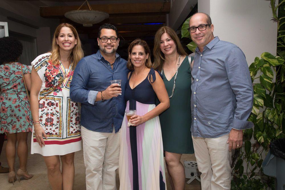 Wilmarie Montilla, Melvin Rodríguez, Tamara Bird, Wendy Sanfiorenzo. (Foto: Suministrada)