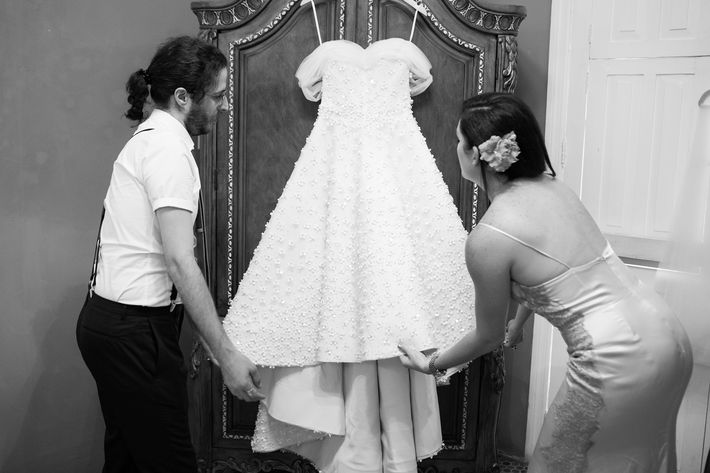 Vestido de la novia- Eclíptica