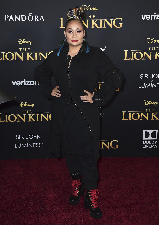 Raven-Symone fue una de las invitadas especiales al estreno. (AP)