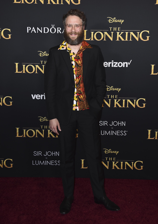 Seth Rogan interpreta a Pumba en la nueva versión del clásico de Disney. (AP)