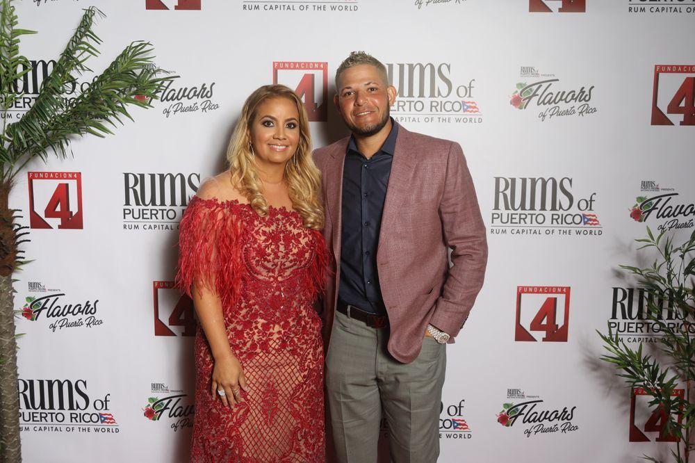 Yadier Molina y Wanda Torres. (Suministrada)