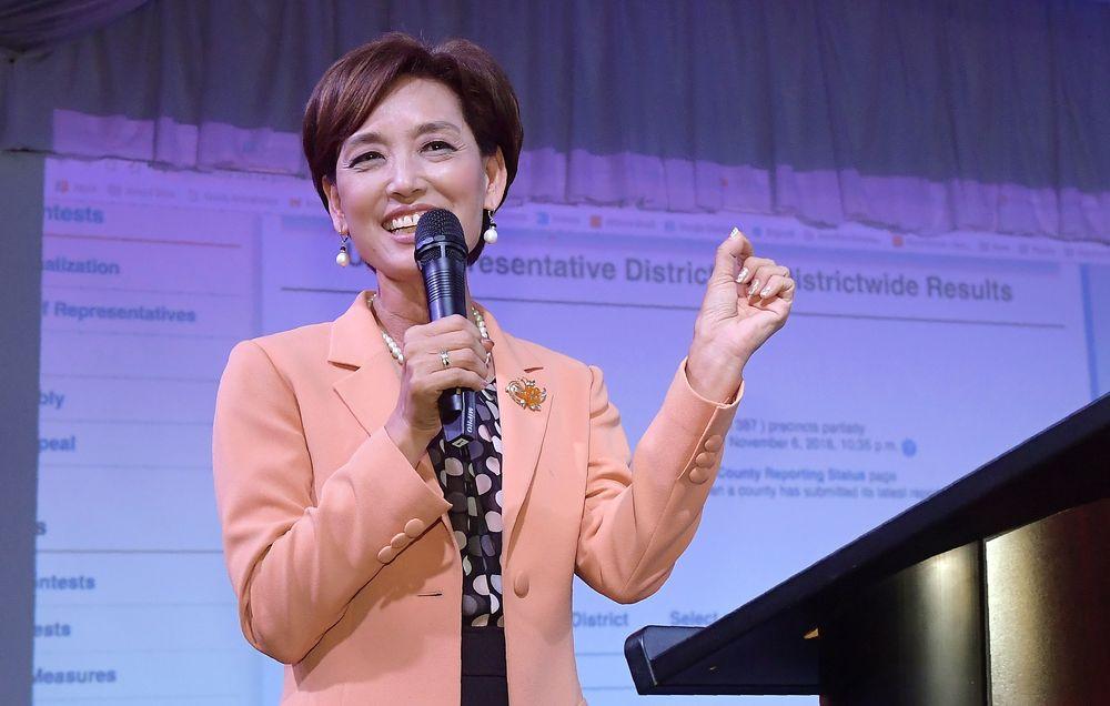 Young Kim - La primera coreano-americana en el congreso, representando al distrito 39 de California. (Foto: AP)