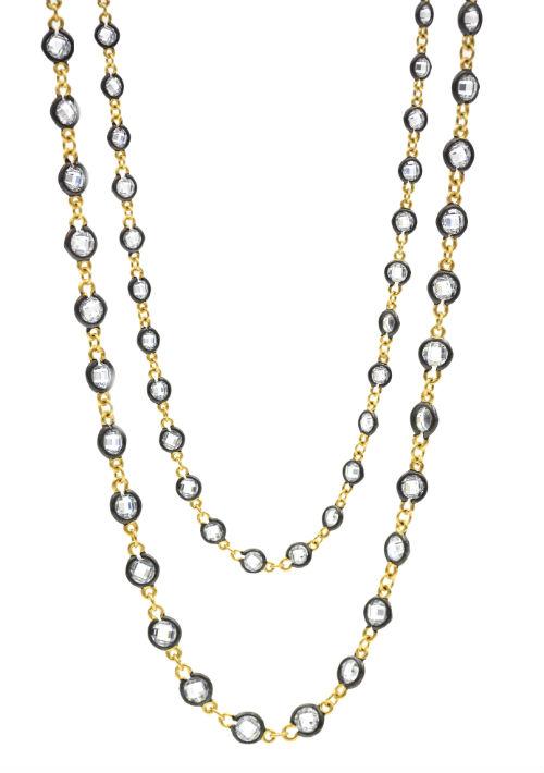 Cadena Freida Rothman, joyería en plata 925 disponible en Kury Plaza Las Américas. (Foto: Suministrada)