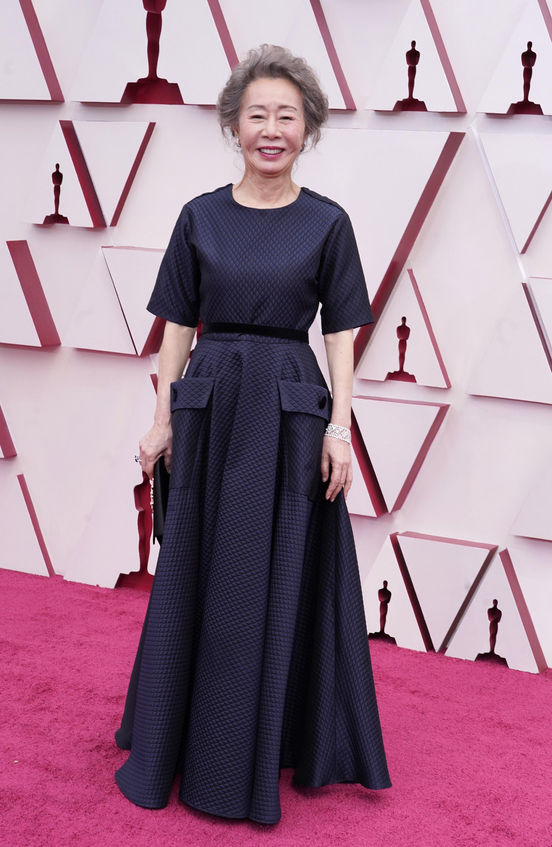 La actriz Yuh-jung Youn. (AP)