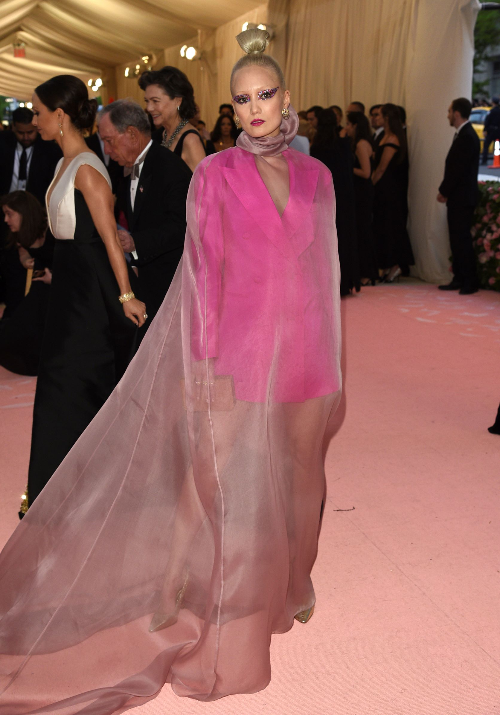 La actriz francesa Pom Klementieff. (AP)