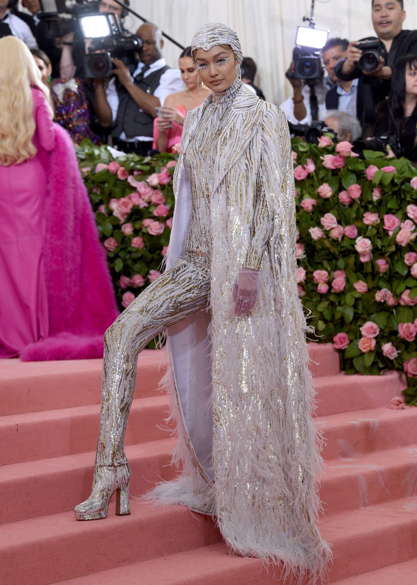 La modelo Gigi Hadid. (AP)