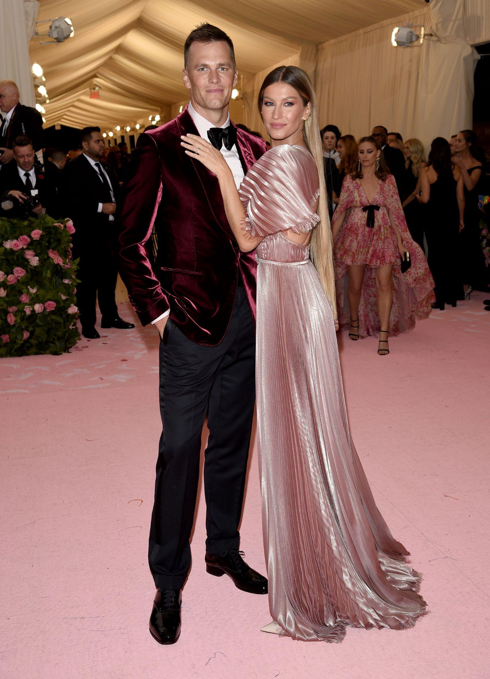 Tom Brady y la supermodelo Gisele Bundchen. (AP)