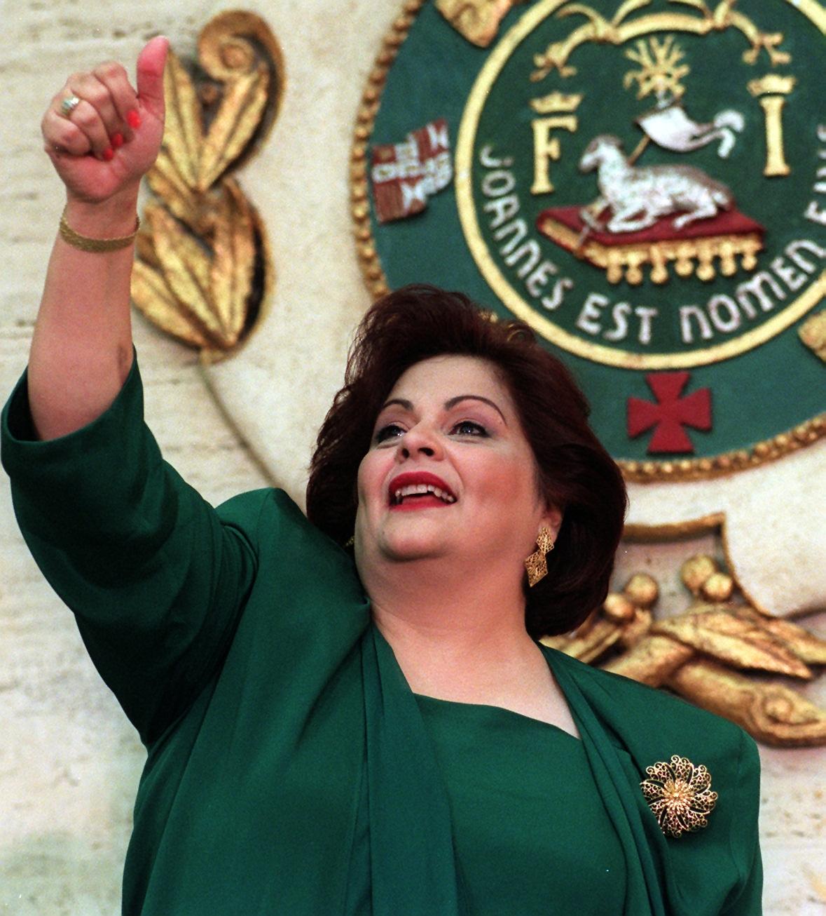 Zaida Hernández Torres (nacida en 1952): primera en ser electa en propiedad como presidenta de la Cámara de Representantes de Puerto Rico. (Archivo)