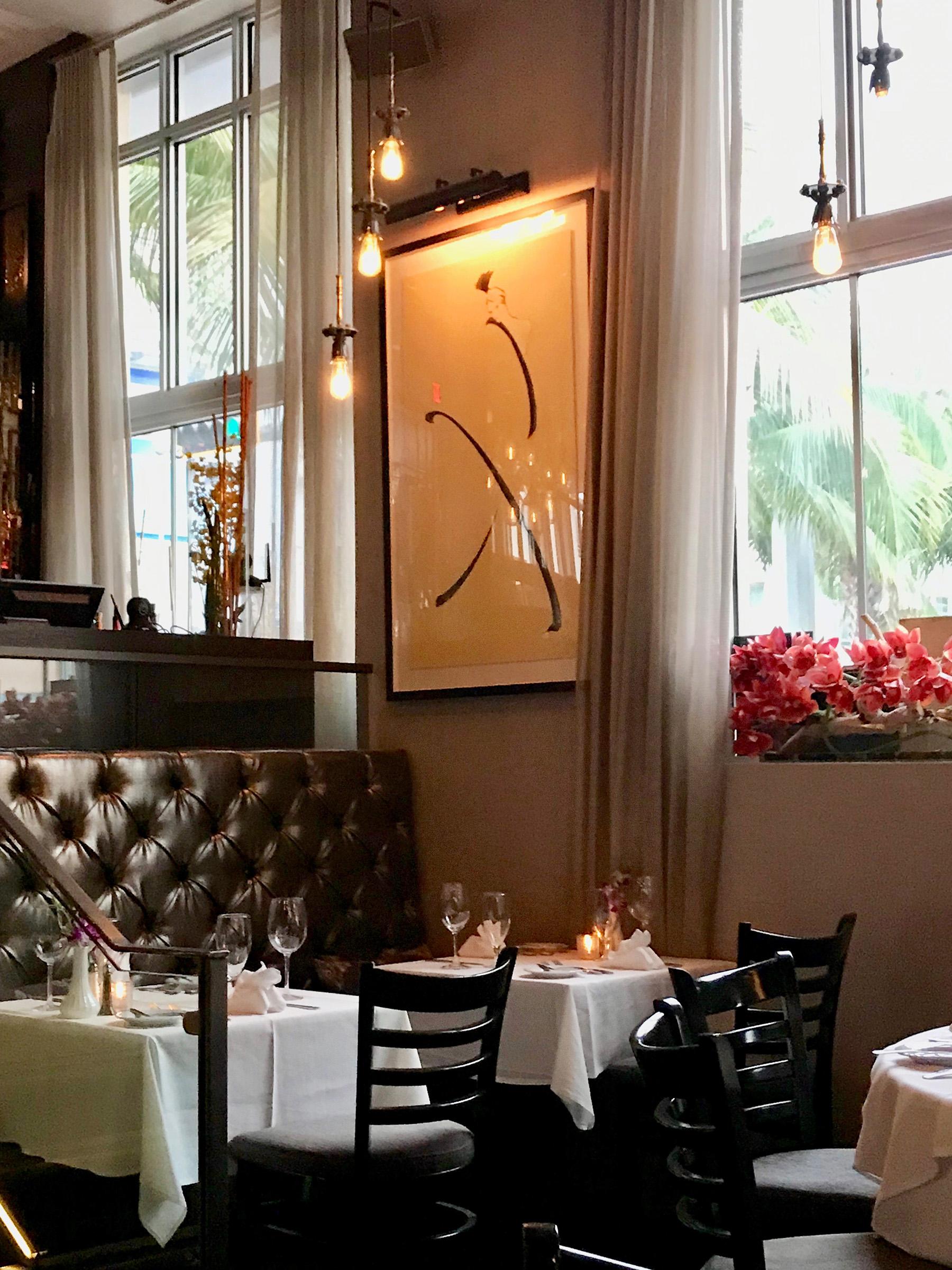Si visitas Miami y disfrutas de la buena mesa, en el restaurante italiano La Ostería del Teatro, en el distrito Art Deco de South Beach, encontrarás excelente comida y servicio de primera. 1200 Collins Ave. Miami Beach. (Suministrada)