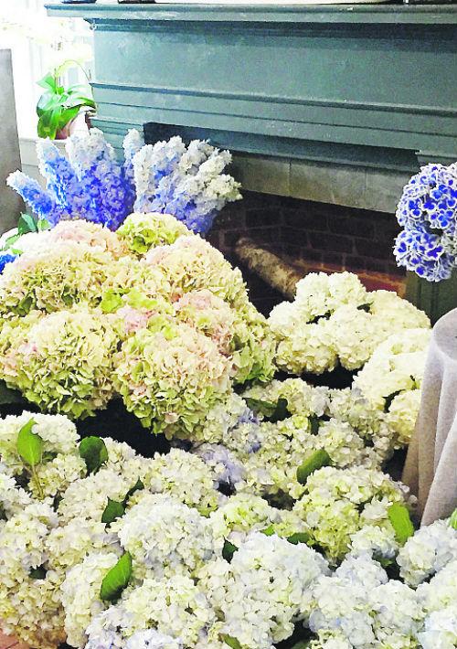 Sag Harbor Florist, la más bella floristería que he visto. ¡Un sueño! 3 Bay Street, Sag Harbor, Long Island. (Foto: María Zipperle)