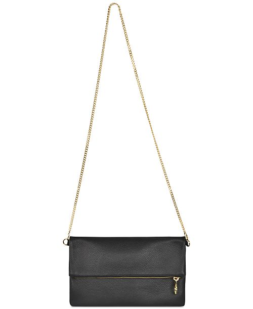 Cartera de piel Lauren Cecchi, egresada de The Workshop  de Macy's.