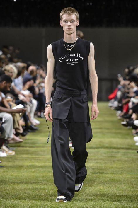 Desfile de la colección primavera-verano 2018 de Dior. (WGSN)