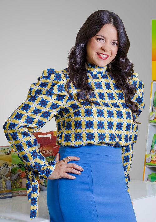 Carmen Ríos, Vicepresidenta y co-dueña de Dulzura Borincana, Inc. (Suministrada)
