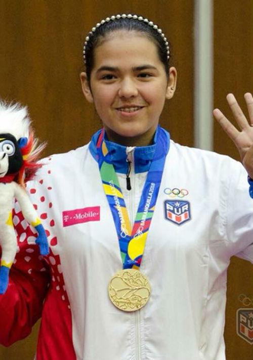 Adriana Díaz , Campeona de Tenis de Mesa. (Suministrada)