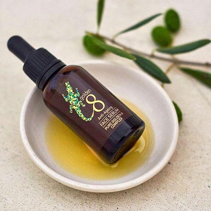 Las marcas australianas nuevas, como Golden 8, se centra en productos para el rostro con aceite de cocodrilo australiano. Foto WGSN