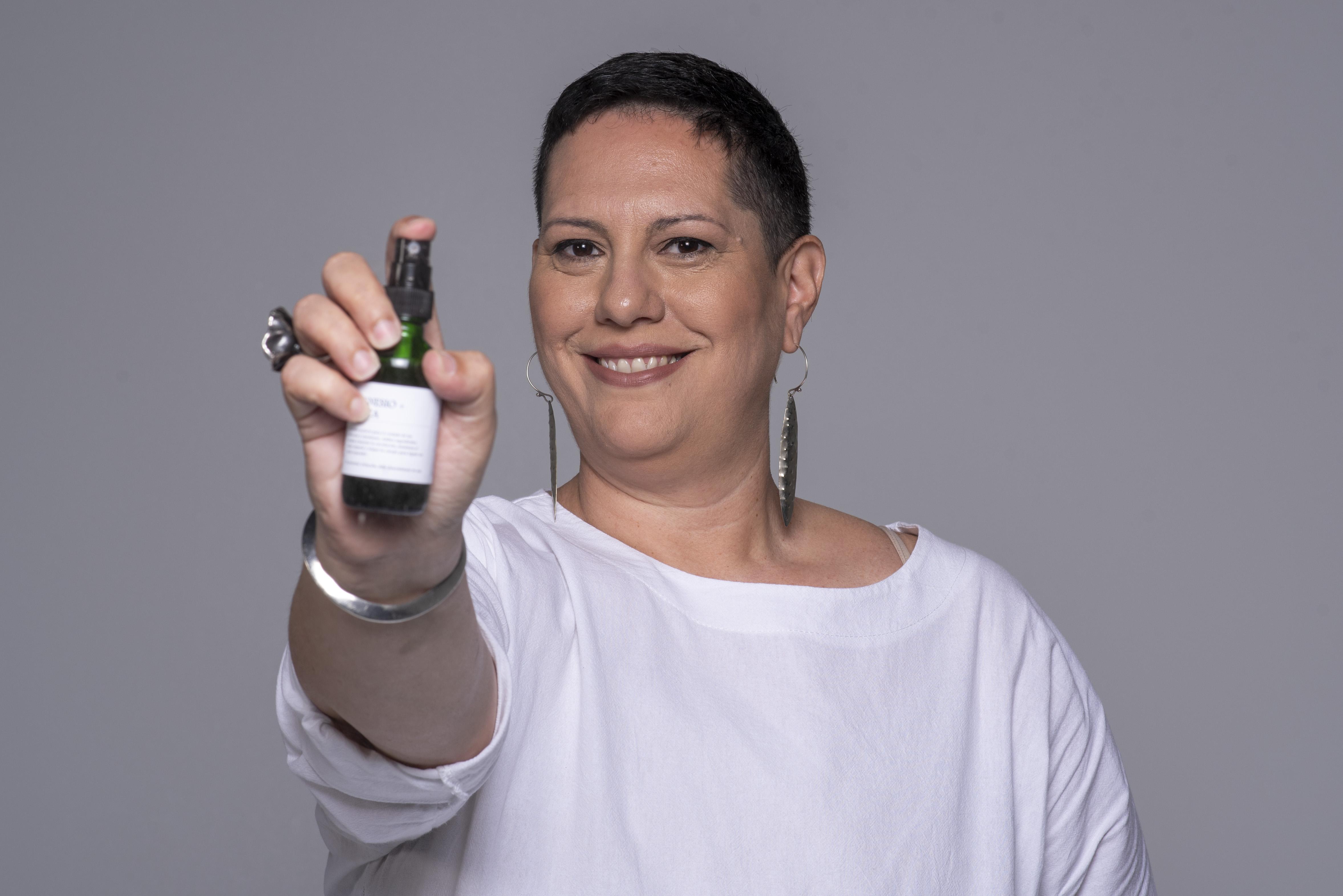 Zaida Thillet es la creadora de Lemoon Spa. (Foto: Neidy Rosado)