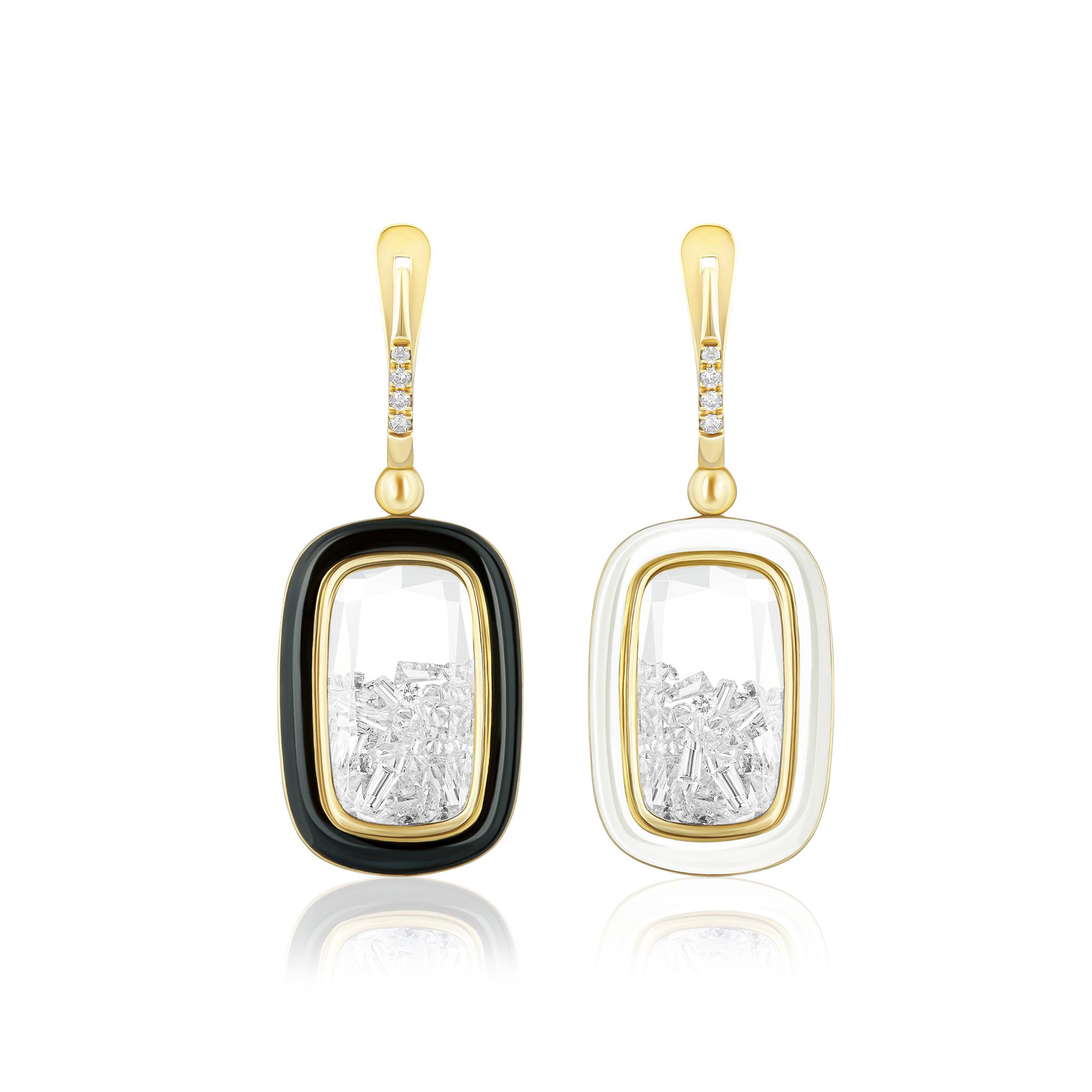 En la joyería, el oro sigue siendo un metal predominante. Colgante en oro de 18 kilates de Moritz Glik, disponible en Lido Jewelers, en The Mall of San Juan. (Suministrada)