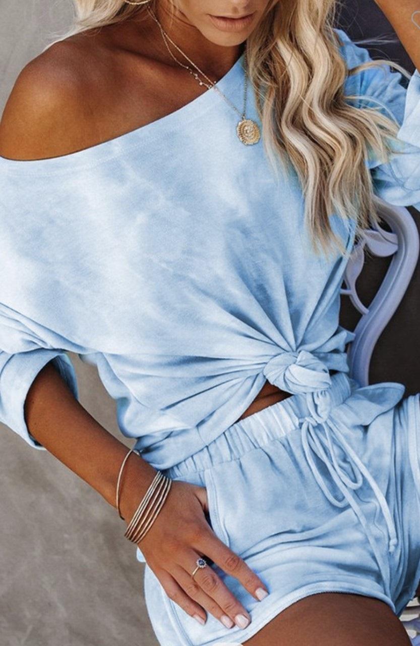 Obsequia comodidad - Conjunto de pantalón corto, ideal para quienes disfrutan de la moda y el confort. Lo consigues en It Girl, ubicada en el primer nivel de The Mall of San Juan. (Suministrada)