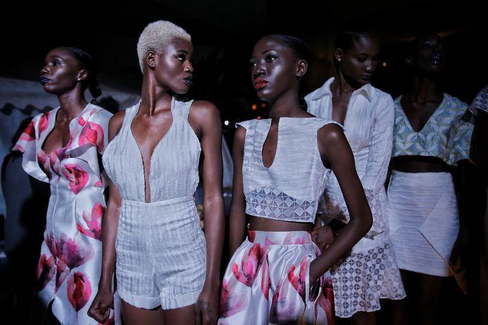 La escena de la moda de África ha crecido continuamente durante las últimas dos décadas. (Prensa Asociada)
