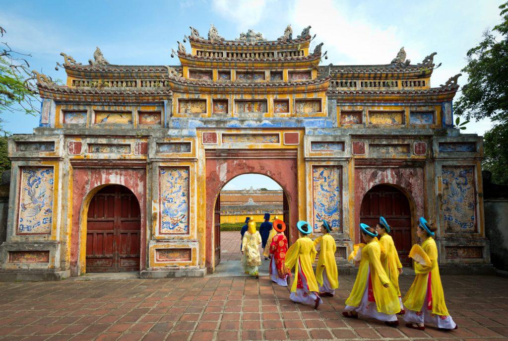 Puerta de la ciudad imperialen Hue, Vietnam. (Suministrada)