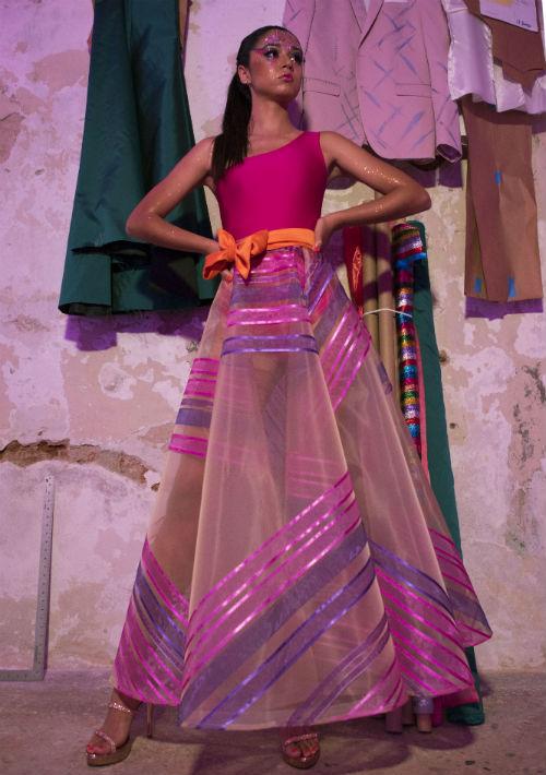 """La colección presentada en Puerto Rico lleva por nombre """" Sunset"""". (Foto: Neidy Rosado)"""