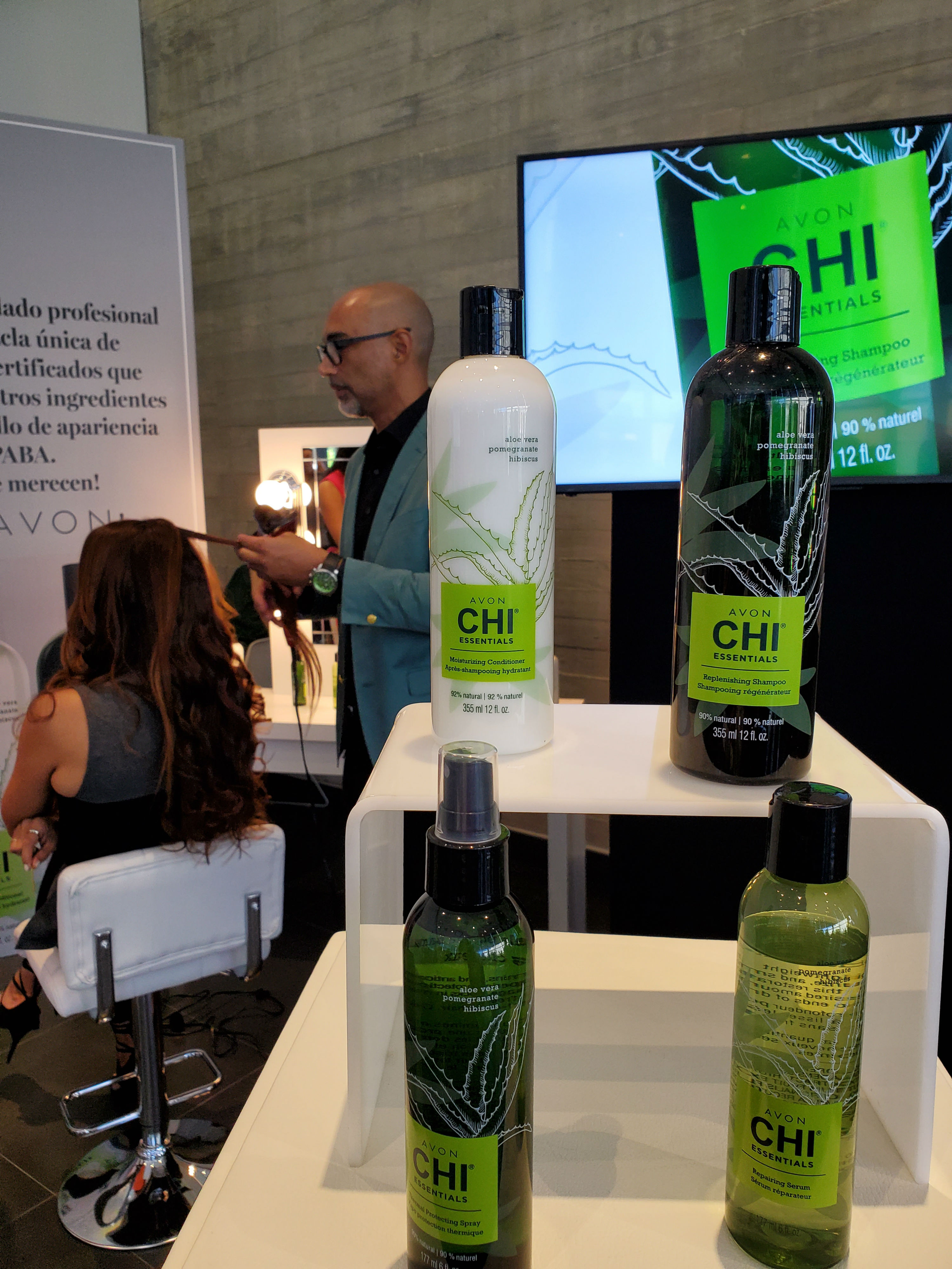 La línea de productos para el cuidado del cabello, Avon Chi Essentials, es libre de sulfato y parabenos. (Suministrada)