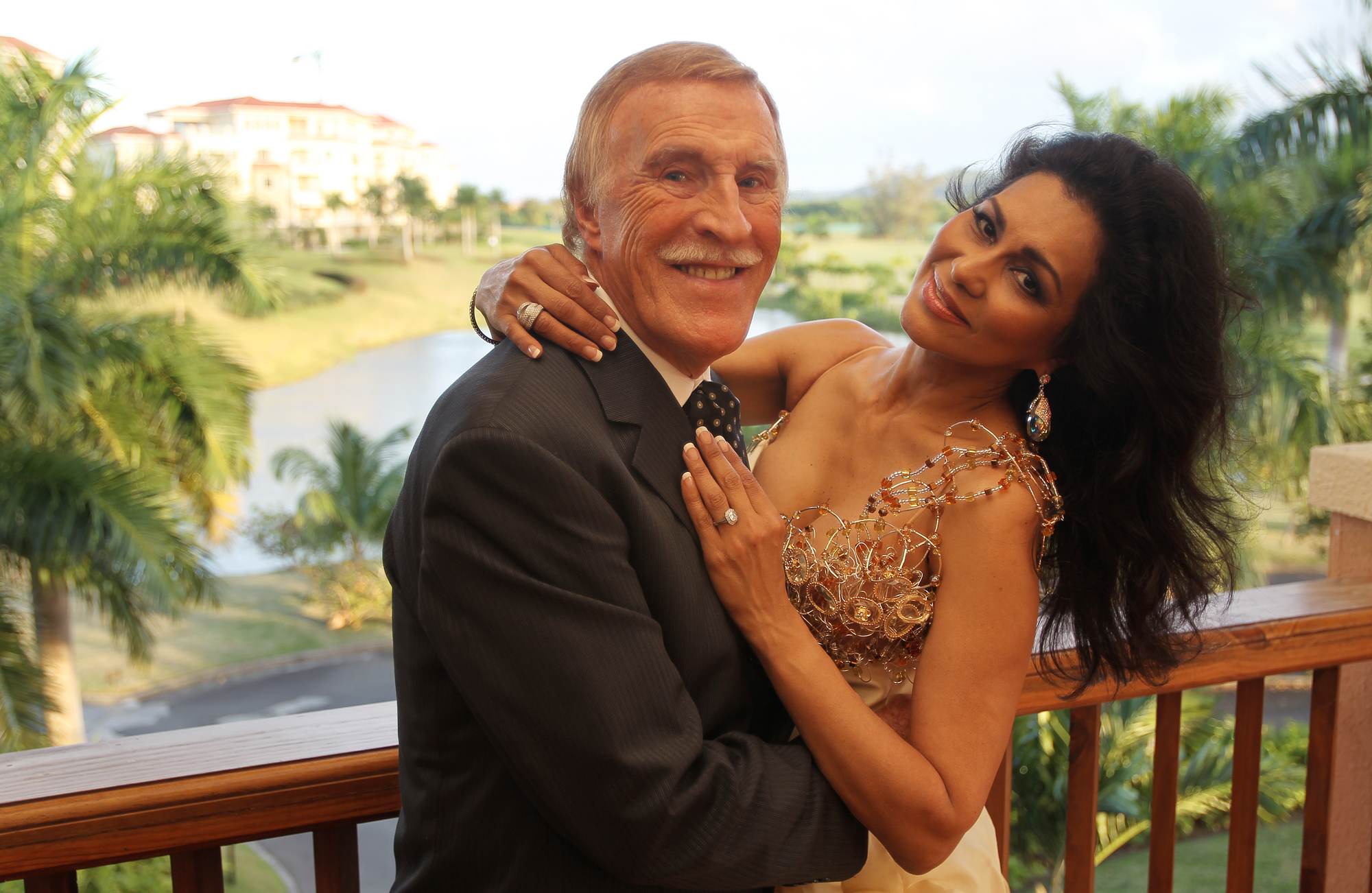 La pareja disfrutaba de vivir temporadas en Puerto Rico, donde mantienen grandes amigos. (Archivo)