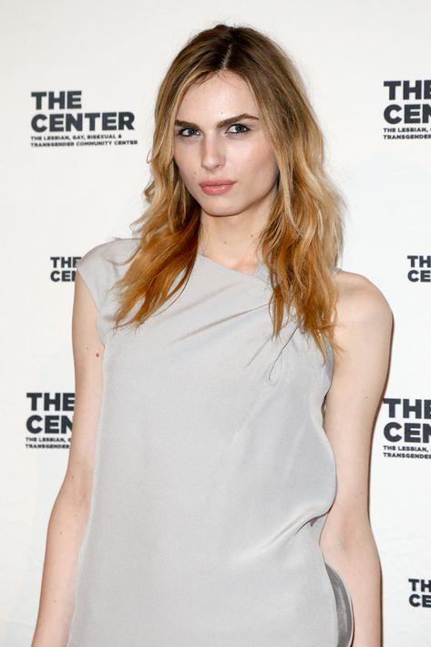 Andreja Pejic – Modelo transgénero que ha logrado participar en pasarelas dedicadas a ropa masculina y a femenina también.