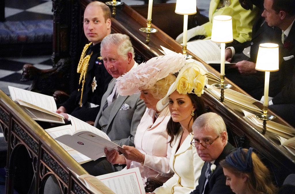 Kate, durante la boda de Meghan Markle y el príncipe Harry. (Foto: AP)