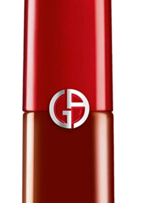 """Labial en tono """"The Red"""" de la colección Lip Maestro Drama de Giorgio Armani. (Foto: Suministrada)"""