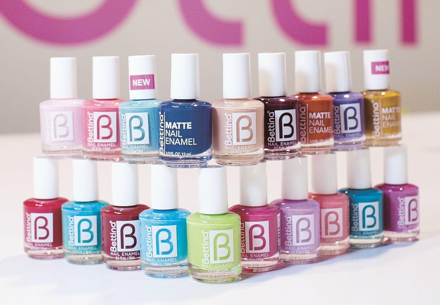 """Bettina - Mis esmaltes favoritos. Esta excelente marca puertorriqueña cuenta con una variedad de colores que puedo escoger de acuerdo a la temporada, la actividad o el """"mood"""" del día. (Foto: Archivo)"""