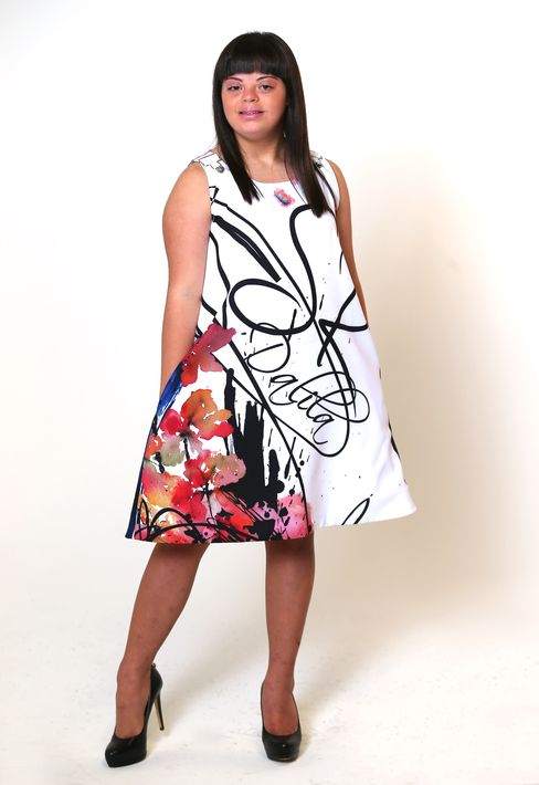 Dalila Zapata – Joven puertorriqueña con Síndrome Down que ha modelado en la Semana de la Moda de Nueva York y Child Model en Atlanta además de otros eventos en Orlando y en París.