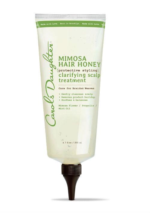 Carol's Daughter Mimosa Hair Honey Clarifying Scalp Treatment está formulado para limpiar a profundidad e hidratar el cuero cabelludo. Puedes conseguirlo en Walgreens. (Foto: Suministrada)