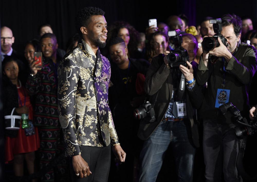 Chadwick Boseman  (Foto: AP)