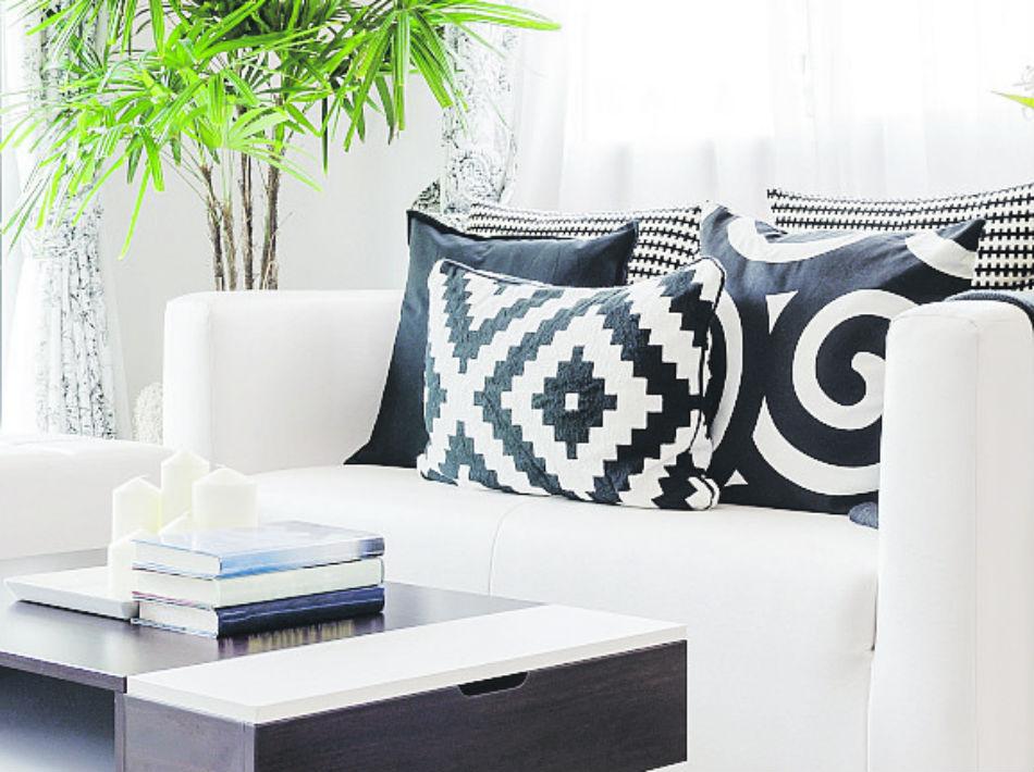 También se usan en textiles decorativos como cojines, alfombras, mantas y hasta ropa de cama.