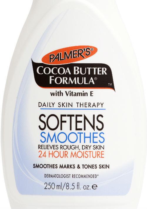 Palmer's Cocoa Butter Formula Body Moisturizer es un clásico en el área del cuidado de la piel. Esta crema provee hidratación profunda hasta por 24 horas, ayudando a aliviar la piel muy seca. Es recomendada tanto para pieles normales como para las secas y aquellas propensas a sufrir eczema. Encuéntrala en Walgreens. (Foto: Suministrada)