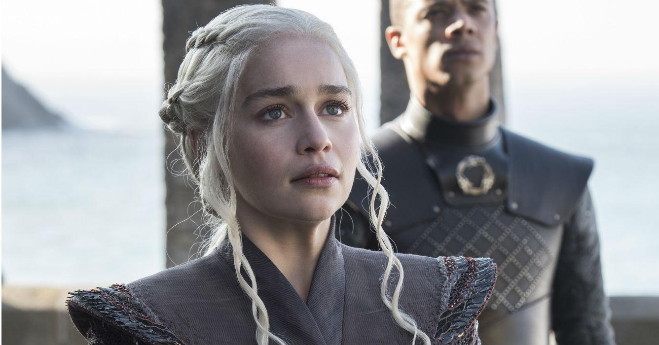 Daenerys Targaryen, la última de su familia que sobrevive, tiene a su haber tres inmensos dragones con los que espera destronar a la casa Lannister y retomar su lugar en el Iron Trone. (HBO/ Helen Sloan/S7/Ep.1)