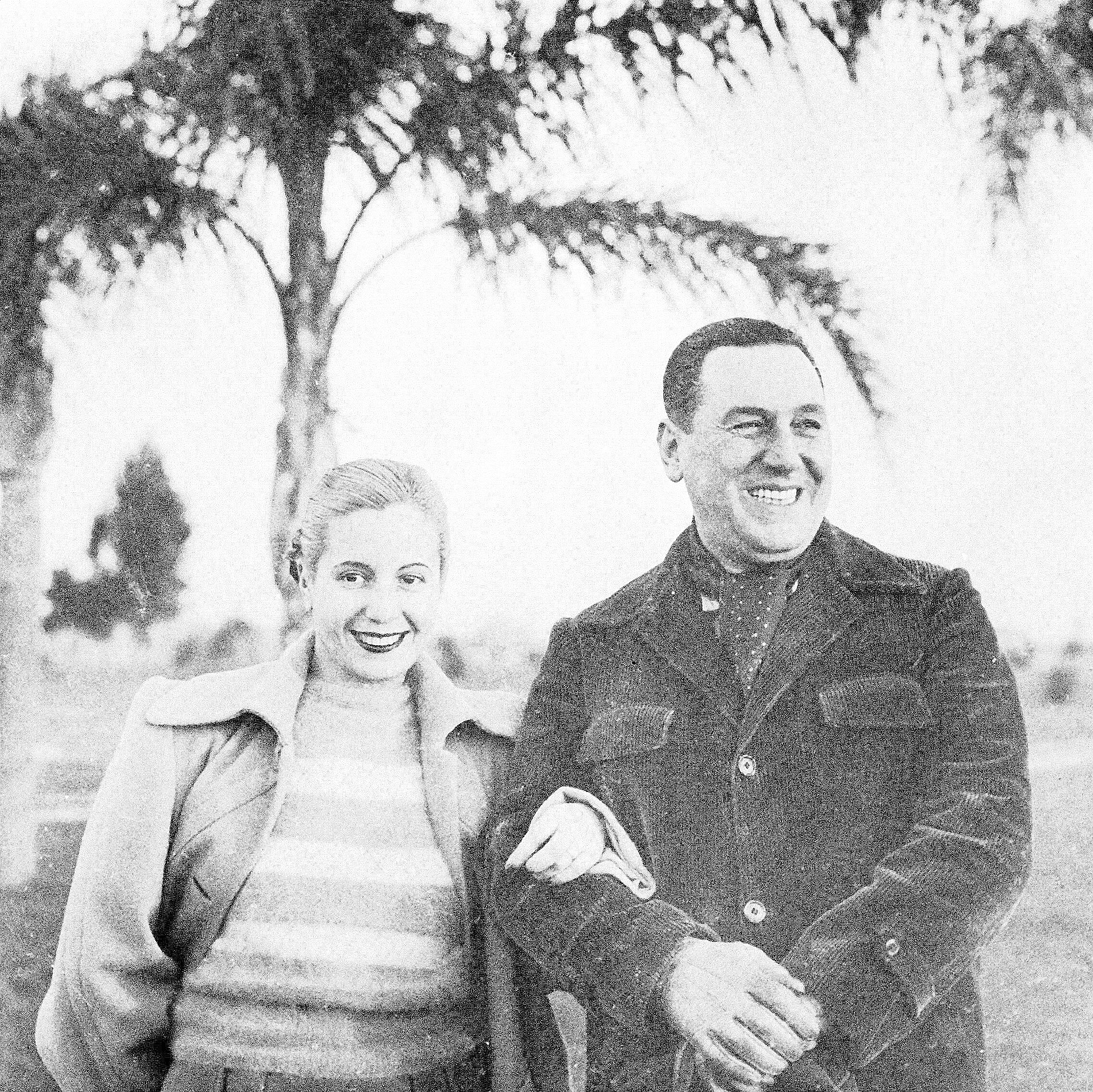 Eva Perón fue la segunda esposa del expresidente argentino, Juan Perón. (Archivo)