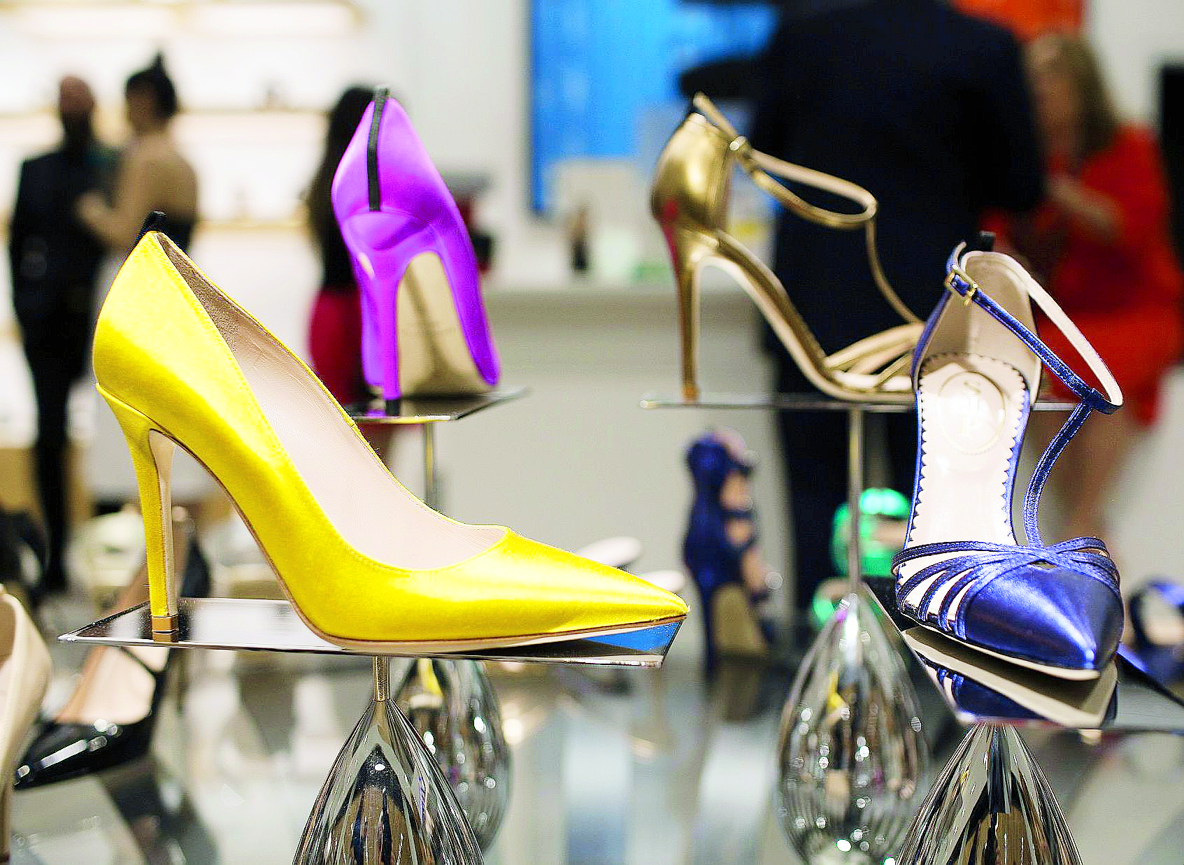 El departamento de zapatos de Nordstrom es uno de los más visitados.
