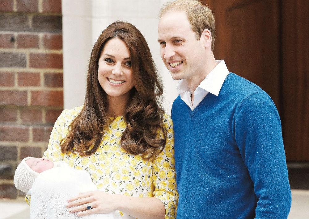 En mayo de 2015 nació la princesa Charlotte. (Foto: Archivo)